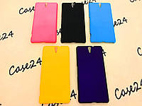 Пластиковый чехол Alisa для Sony Xperia C5 Ultra (5 цветов)