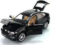 Коллекционная машинка BMW X6 металлическая  в масштабе 1:32