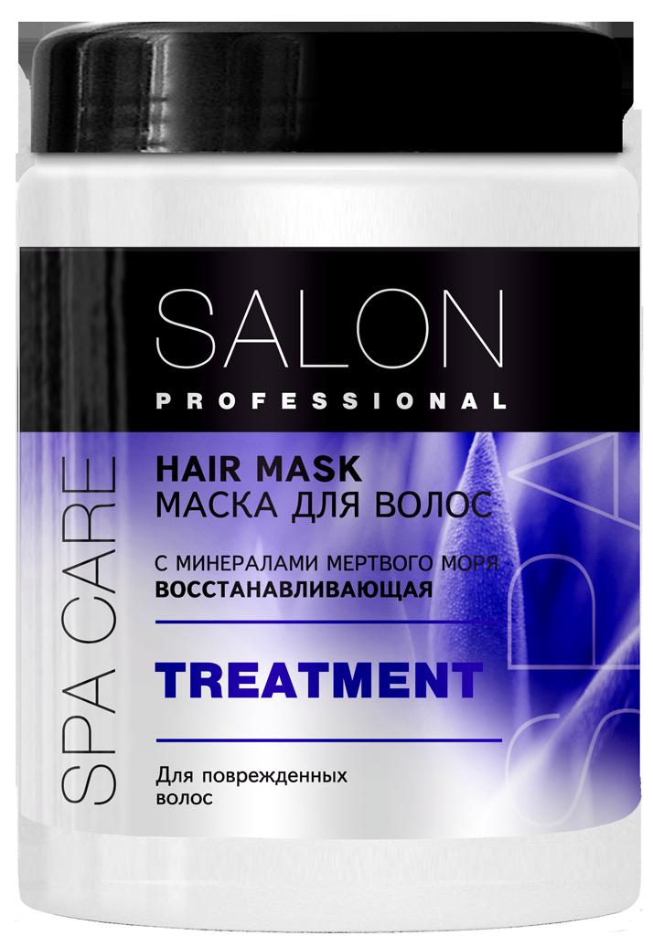 """Маска для пошкодженого волосся Відновлююча ТМ """"Salon Professional SPA"""" , 1000 мл"""
