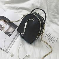 Маленькая черная сумочка с замочком