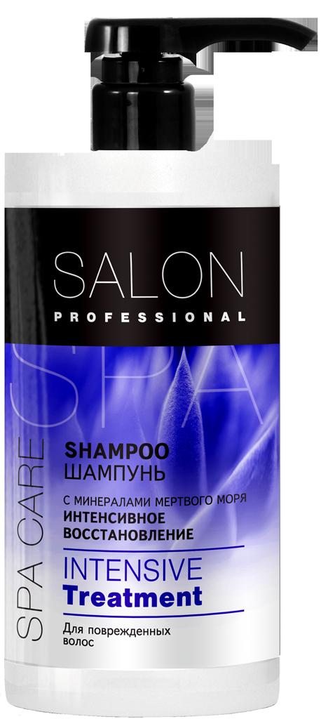 """Шампунь """"Интенсивное восстановление"""" для поврежденных волос ТМ """"SAlon Professional SPA"""", 1000мл"""