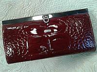 Женский кошелек кожаный бордовый.Desisan(Турция)
