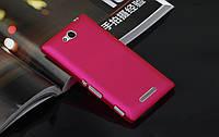 Пластиковый чехол Alisa для Sony Xperia C С2305 (5 цветов)