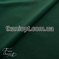 Ткань Трикотаж двунитка (изумруд)