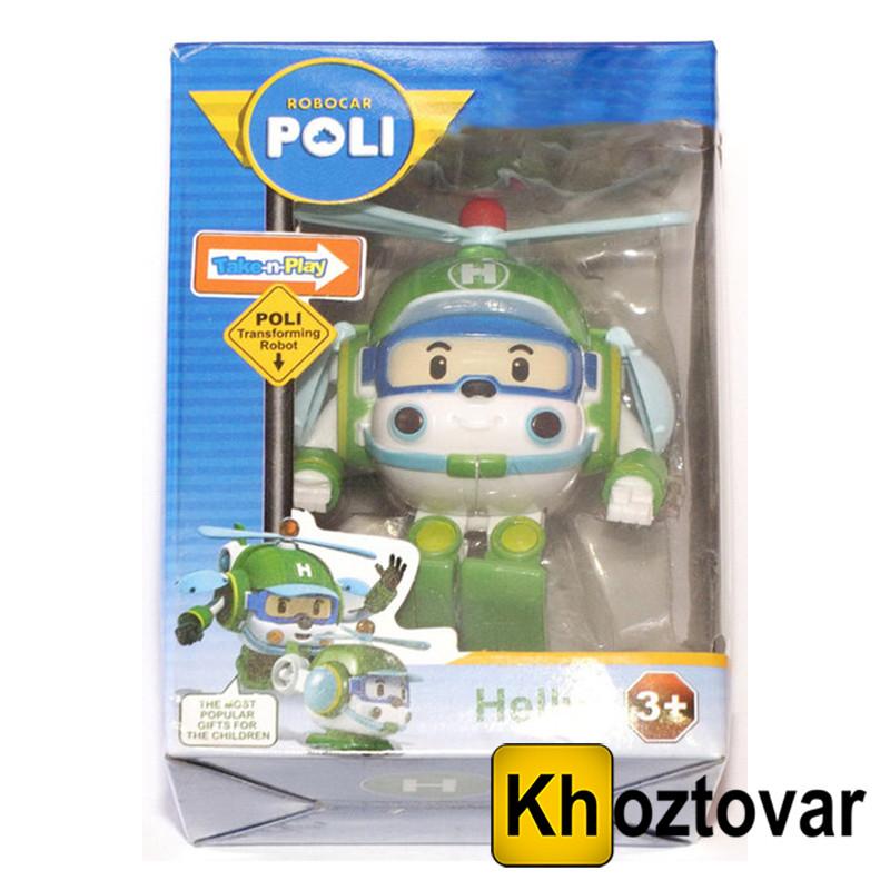 "Робот-трансформер ""Хэлли"" Robocar Poli Helly"