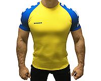 Спортивная мужская футболка для занятий Crossfit и тяжелой атлетике WINNER Ukraine Клоков