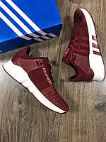 Кроссовки Adidas Equipment бордо  для мужчин.копия