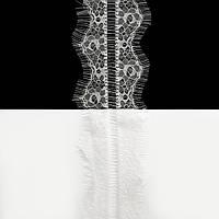 Кружево ЮС арт.047 белое шантильи, 7 см
