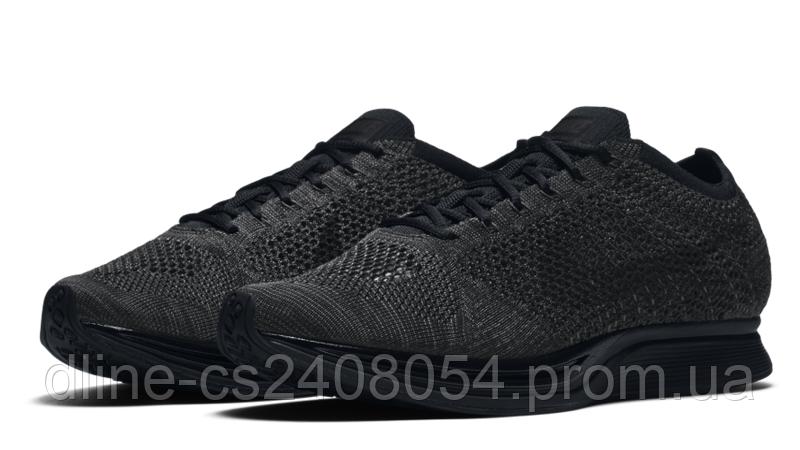 Mужские кроссовки Nike Flyknit Racer Black Mono