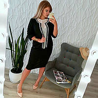 Женский костюм с блузкой Батал 0070 ИИ, фото 1