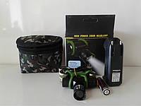 Фонарь аккумуляторный налобный Police 6660 XPE