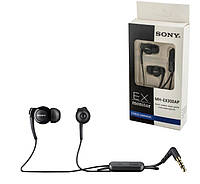 Наушники гарнитура Sony MH-EX300AP для Sony Xperia XA Ultra F3212