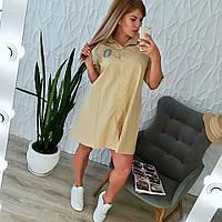 Свободное платье 0071 ИИ, фото 1
