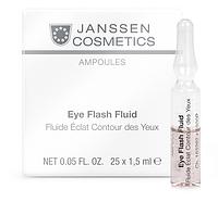 Ампулы для глаз JANSSEN Ampoules Eye Flash Fluid 25*2мл