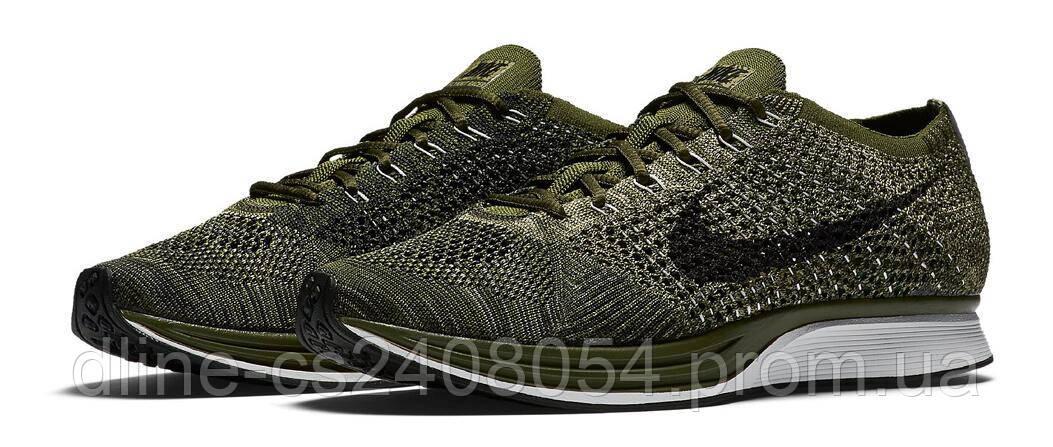Mужские кроссовки Nike Flyknit Racer Haki