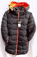 Мужская длинная куртка осень/зима оптом 6622, фото 1