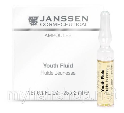 Омолаживающий флюид JANSSEN Ampoules Youth Fluid 25*2мл
