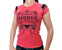 Женская футболка для занятий Crossfit и тяжелой атлетике WINNER Iron King