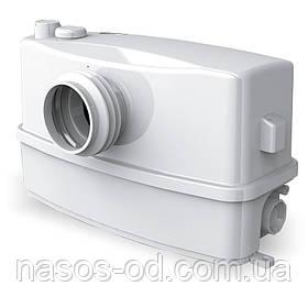 Канализационный насос станция сололифт Aquatica для санузлов 0.6кВт Hmax8м Qmax110л/мин