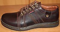 Туфли мужские на шнурках из натуральной кожи  Г - 16Т