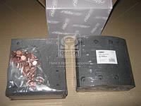 Накладка гальмівна (компл. на вісь) 420х180 1-й рем. SAF (в-во RIDER)