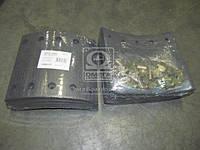 Накладка гальмівна (компл. на вісь) 420х180 станд. BPW, KASSBOHRER, SAF (в-во RIDER)