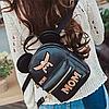 Модный мини рюкзак с ушками, фото 8