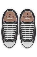 Шнурки силиконовые для обуви AntiLaces Start Белый 38-68мм, SW