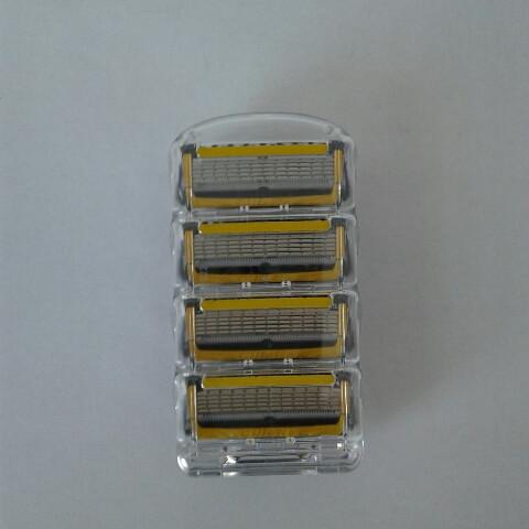 Кассеты Gillette Fusion Proshield 4 шт. ( Картриджи лезвия жиллетт Фюжин прошилд желтые Оригинал )