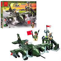 Конструктор BRICK 810 (30шт) истребитель, 225 дет, в кор-ке, 28-19-4,5см