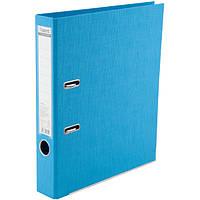 Папка-регистратор Axent Prestige+ A4 с двусторонним покрытием, 5 см, светло-голубая