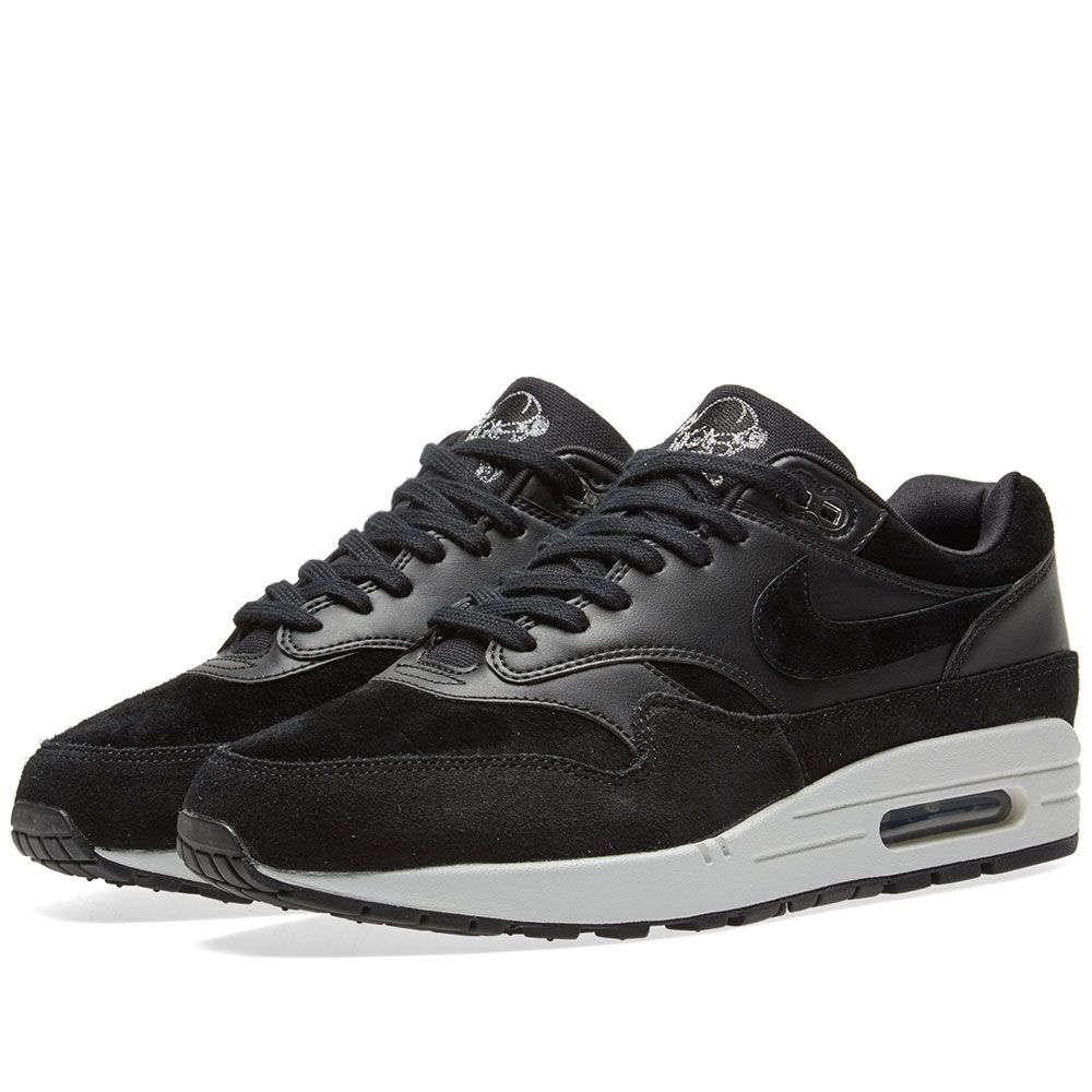 d9452a3282de Оригинальные кроссовки Nike Air Max 1 Premium Black - Sport-Sneakers - Оригинальные  кроссовки -