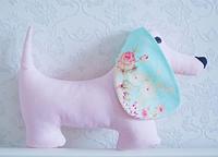 Подушка - игрушка - собачка