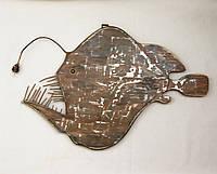 Деревянная рыба Удильщик
