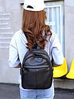 Женский черный рюкзак