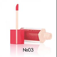 Жидкая матовая помада Bourjois Rouge Edition Souffle de Velvet Lipstick №03 7,7ml