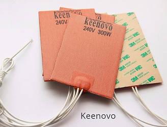 Подогреватели двигателя Keenovo. Гибкие греющие пластины 12В, 24В, 220В.
