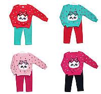 Костюмы детские трикотажные для девочек Baby Puff 3009