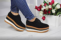 Туфли на платформе Черные(ВЕНГРИЯ)