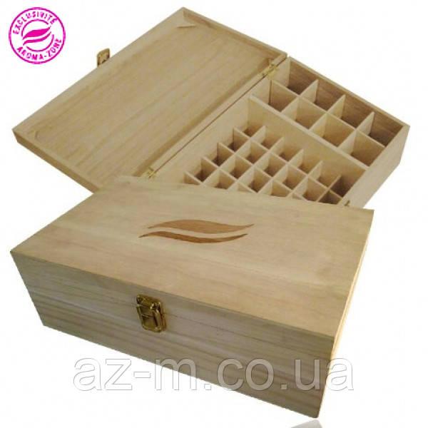Деревянный ящик для хранения MAXI (50 флаконов)