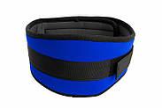 """Атлетичний Пояс тканинній """"Wide"""" синій, фото 6"""