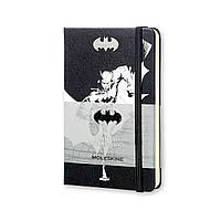 Блокнот Moleskine Limited Batman (Бэтмен) Карманный 192 страницы Черный Нелинованный (9х14 см) (8052204400928), фото 1