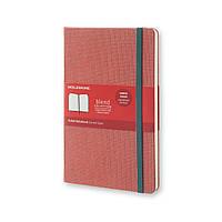 Блокнот Moleskine Limited Blend Средний 240 страниц Красный в Линейку в Тканевой обложке (13х21 см) (8051272893557), фото 1