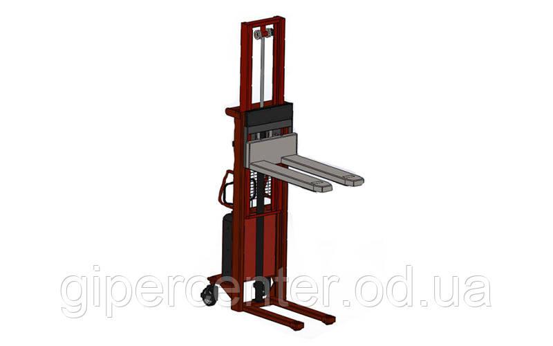 Штабелер полуэлектрический с весами AXIS 4BDU1500ШН практичные до 1500 кг