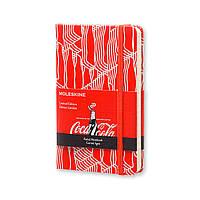 Блокнот Moleskine Limited Coca-Cola Карманный 192 страницы Красный в Линейку (9х14 см) (8051272891249), фото 1
