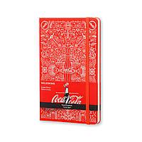 Блокнот Moleskine Limited Coca-Cola Средний 240 страниц Красный в Линейку (13х21 см), фото 1
