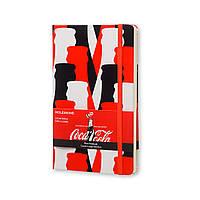 Блокнот Moleskine Limited Coca-Cola Средний 240 страниц Красный Нелинованный (13х21 см) (8051272891270), фото 1