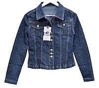 Пиджак женский джинсовый Crown Jeans модель 407 (BOLERA) Vintage denim collection