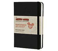 Блокнот Moleskine Limited Disney Mickey Mouse Карманный 192 страницы Черный Нелинованный (9х14 см) (9788866137894), фото 1