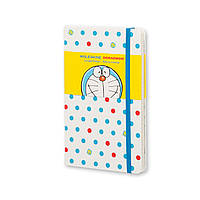 Блокнот Moleskine Limited Doraemon Средний 240 страниц Белый в Линейку (13х21 см), фото 1